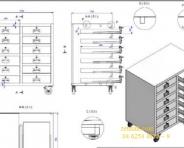 Tủ sắt 1100x700x1300mm