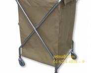 Xe đẩy đồ giặt - 620x620x985mm