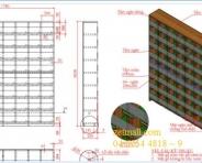 Tủ gỗ- 1780x1820x250