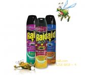 Bình xịt muỗi raid max 650ml