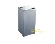 Thùng rác inox (H)610x(L)300x(W)300x0.8mm