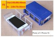 Hộp đựng linh kiện , F0, 140x90x40mm(OUT)