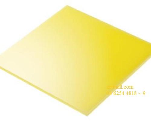 Tấm Mica - 180x10x2mm, vàng