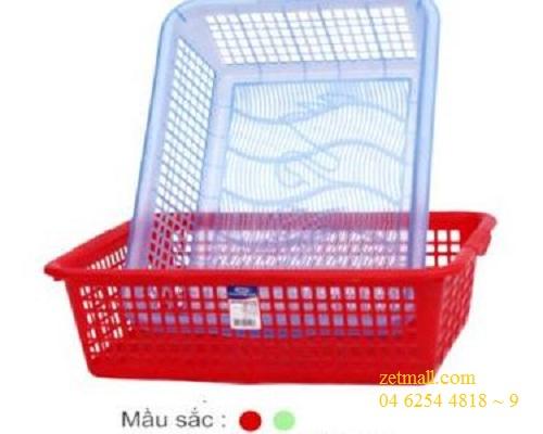Sọt nhựa - 420x320x130mm