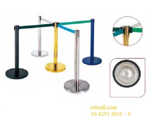 Cột chắn Inox - (Ø)đế 320x( Ø )cột 61x(H)910mm