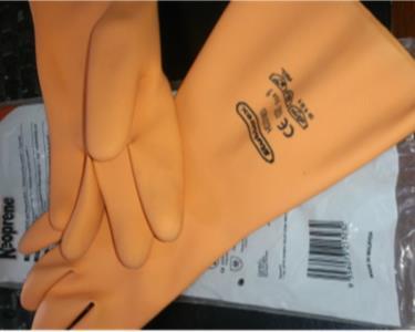 Găng tay cao su chống hoá chất