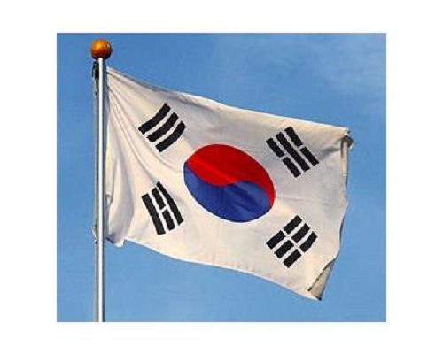 Cờ Hàn Quốc 0.9mx1.3m